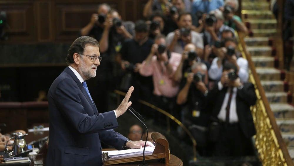 Rajoy en el Congreso