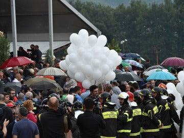 Funeral de Estado en Amatrice