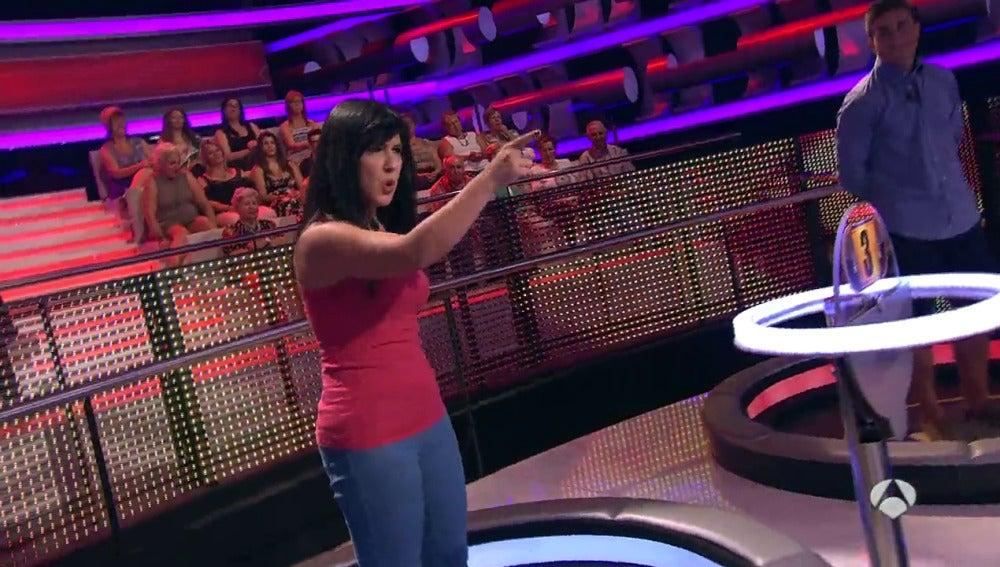 Monica Naranjo se cuela en 'Ahora Caigo'