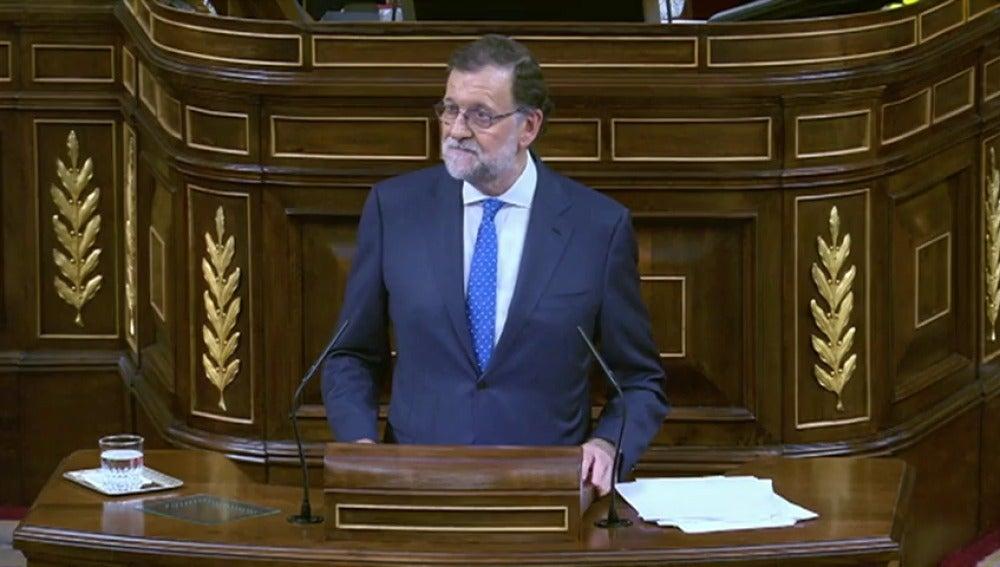 Frame 28.028826 de: Rajoy ofrece un gran pacto en financiación autonómica, pensiones, educación y violencia de género