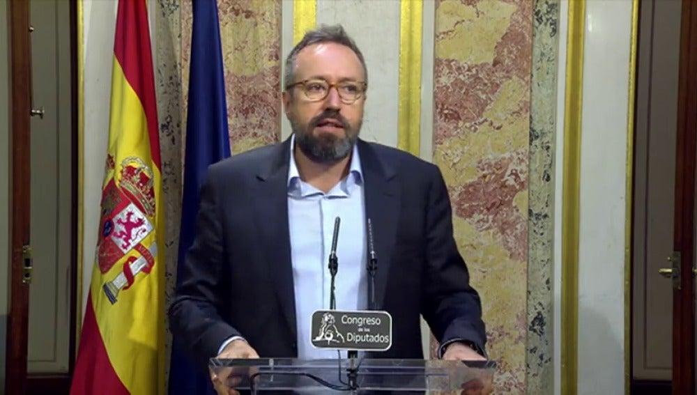 Frame 8.429826 de: Girauta muestra su sorpresa ante la falta de fe de Mariano Rajoy para obtener la investidura