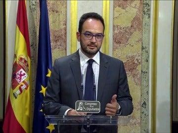 """Frame 7.847543 de: Hernando: un discurso de """"un burócrata"""" y de un """"político cansado"""""""