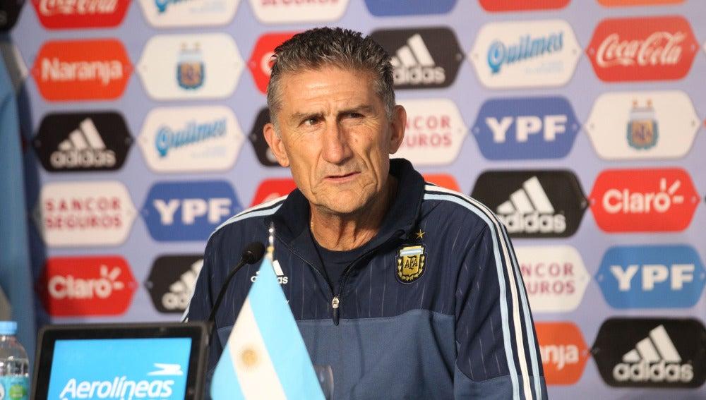 Edgardo Bauza, seleccionador de Argentina
