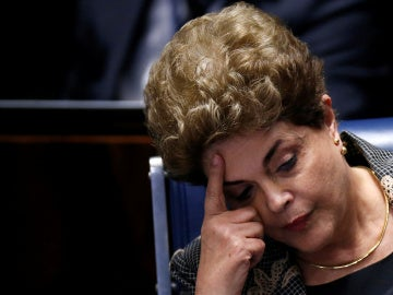 La presidenta suspendida de Brasil, Dilma Rousseff, se enfrenta a una amplia mayoría del Senado ante su posible destituición