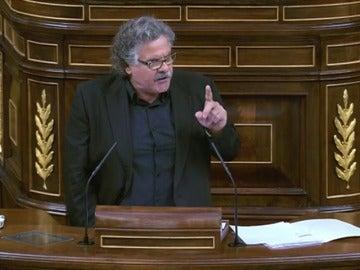 """Frame 78.381831 de: Tardá, tajante ante Rajoy: """"La España derechona e inmovilista del PP ha fracasado en Cataluña"""""""