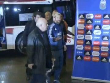 Leo Messi, recibido por todo lo alto en Argentina