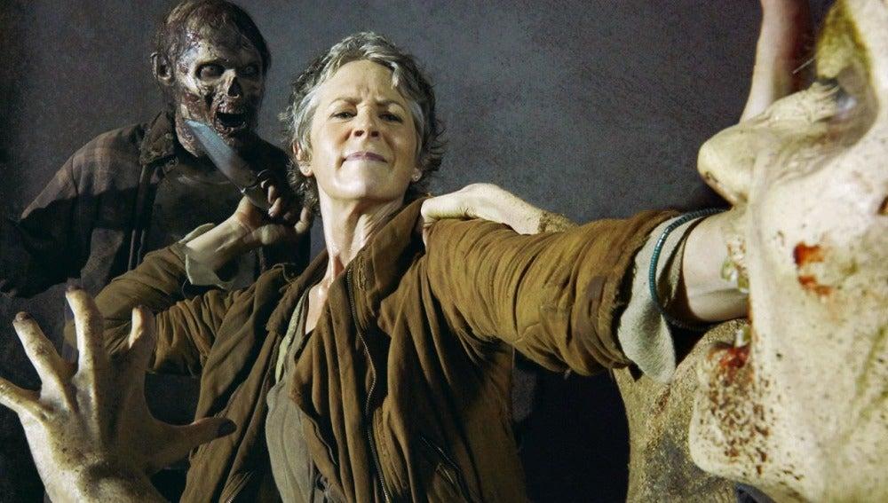 Melissa McBride en 'The Walking Dead'