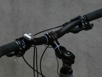 Manillar de una bicicleta