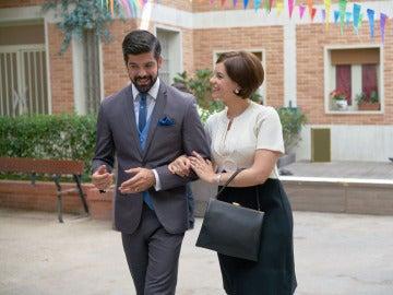 Alonso Nuñez de Losada junto a Marta Novoa