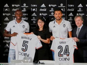 Layhoon, con Mangala, Garay y Pitarch