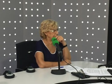 Manuela Carmena, alcaldesa de Madrid, en Onda Cero