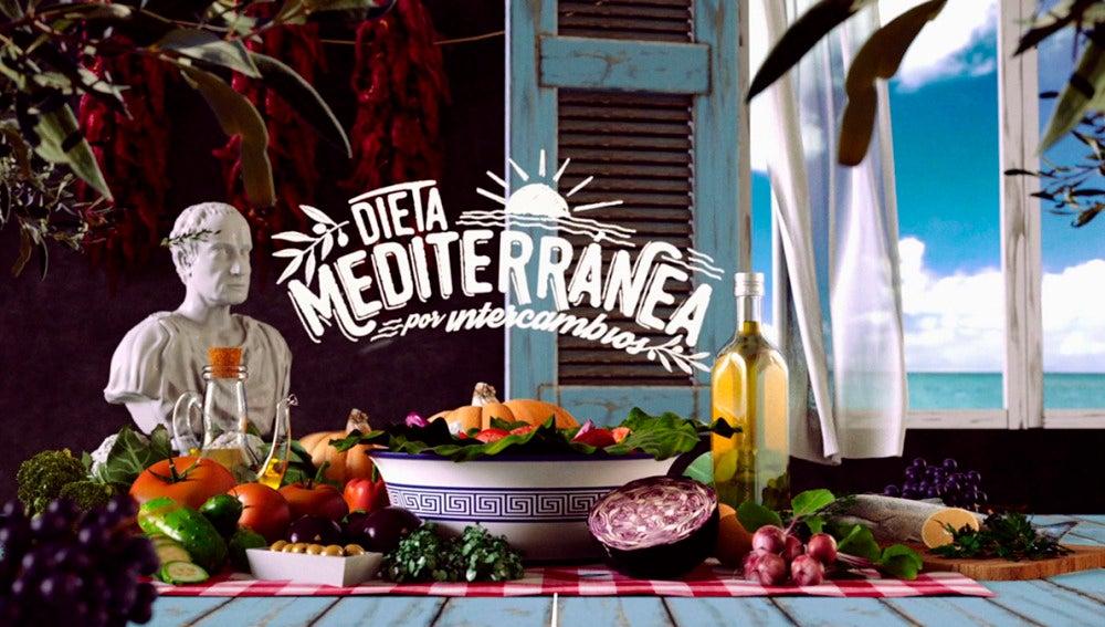 Chicote prueba la dieta Mediterránea