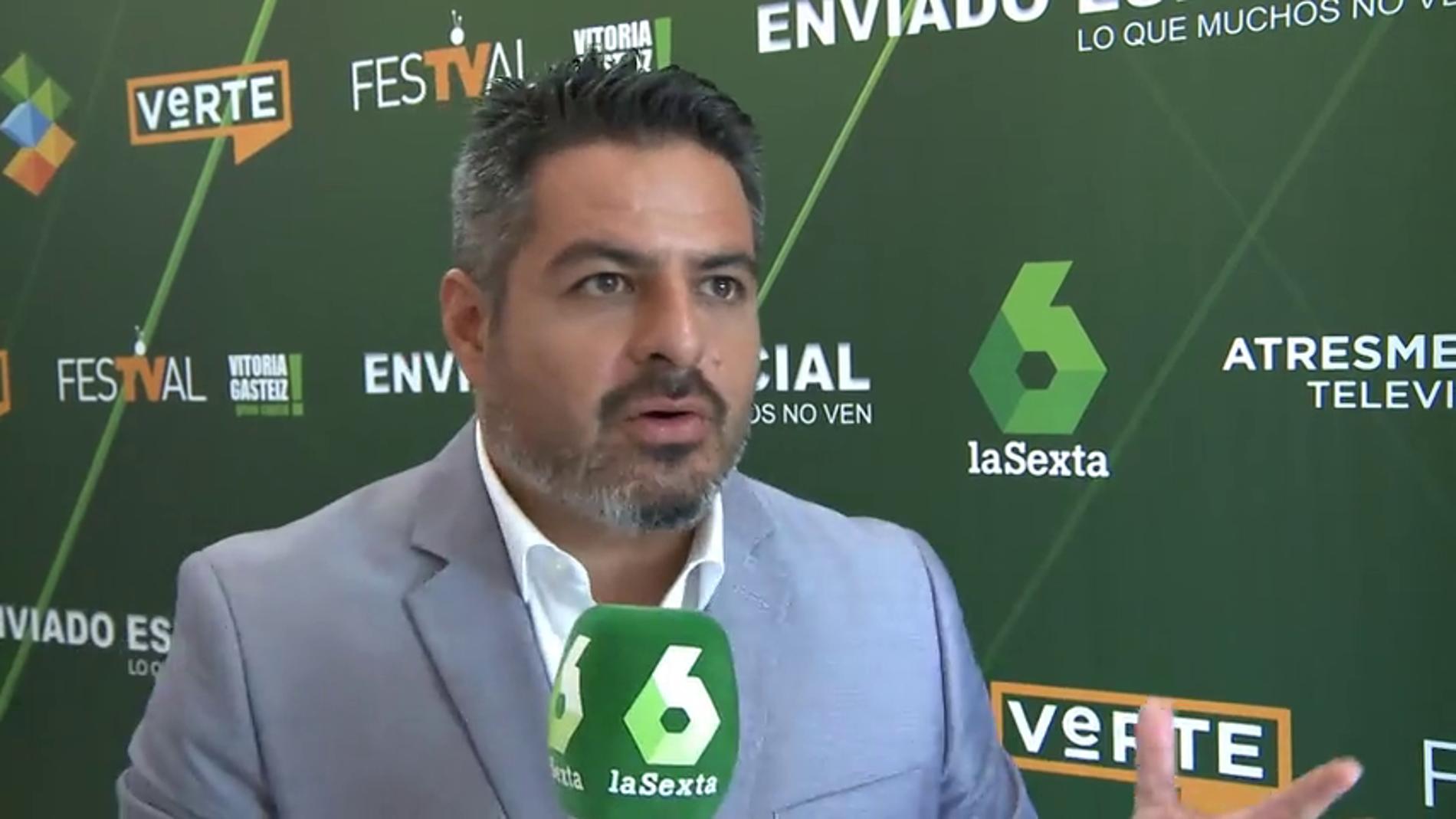 Frame 38.536653 de: Presentación de Enviado especial en el FesTVal de Vitoria