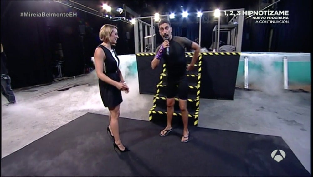 Frame 8.859715 de: Mireia Belmonte baila junto a Marron