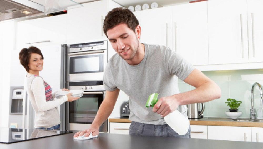 Limpieza en el hogar