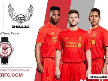 Holler, nuevo patrocinador del Liverpool.