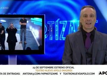 Frame 43.429021 de: Déjate hipnotizar por Jeff Tousaint a partir del 23 de septiembre en el Teatro Apolo de Madrid