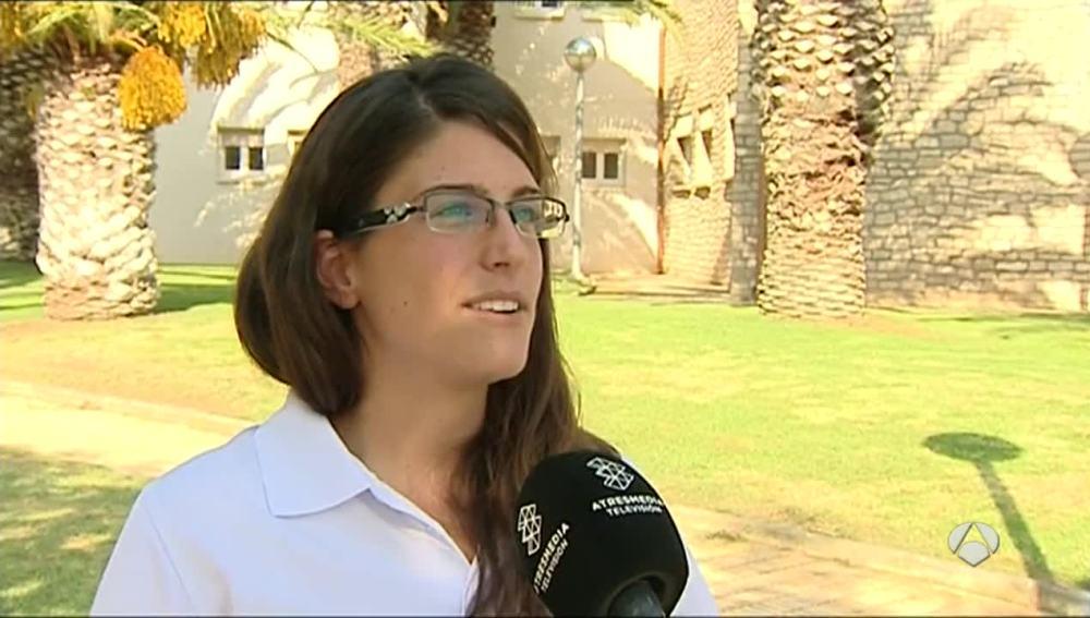 Marta Galego, la árbitra que paró un partido por insultos machistas.