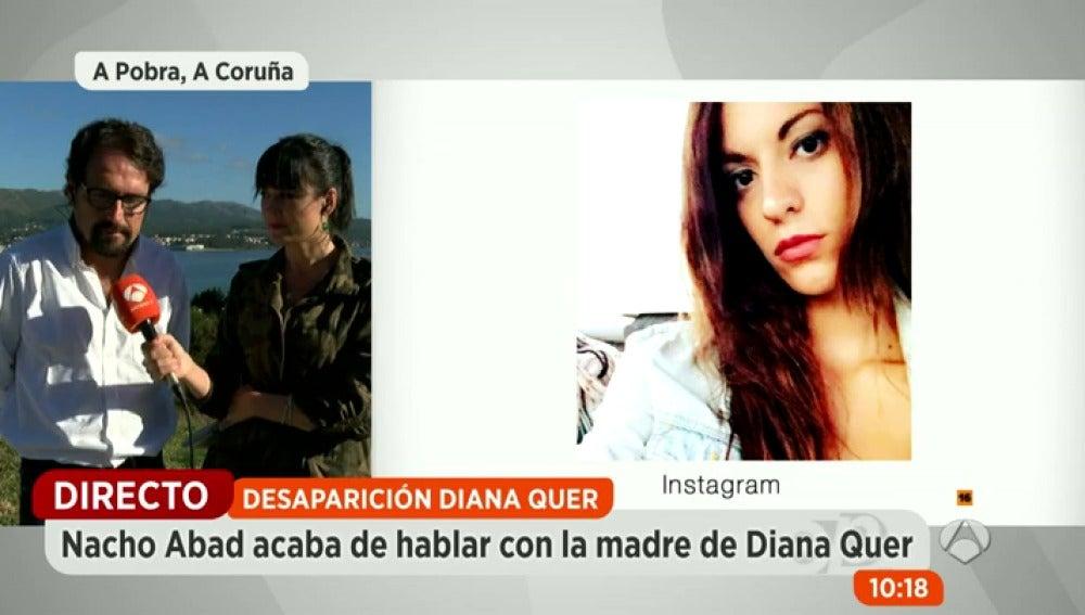 Antena 3 tv diana quer se llev una cazadora de casa for Espejo publico diana quer