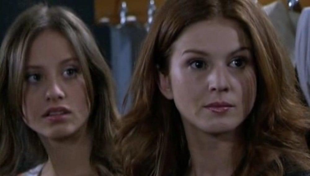 Sara y Silvia en 'Los Hombres de Paco'