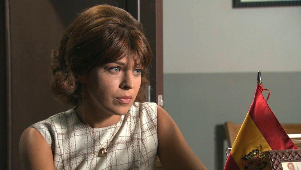 Nuria descubre que la solicitud de Jaime nunca fue enviada
