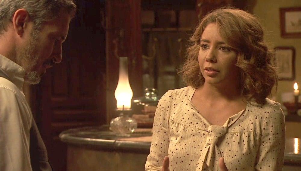 Emilia ayudará a Cristóbal