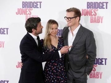 Los protagonistas de 'Bridget Jones' Baby' en Madrid