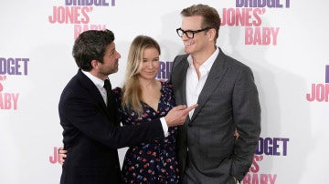 Los protagonistas de 'Bridget Jones' Baby' en Madrid