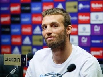 El jugador del Oviedo, Michu Pérez Cuesta.