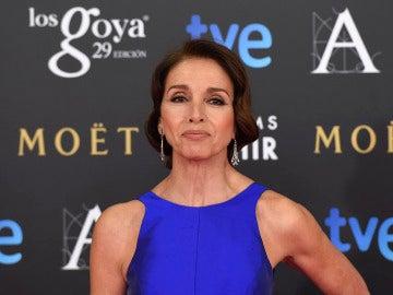 Ana Belén en la pasada edición de los Premios Goya