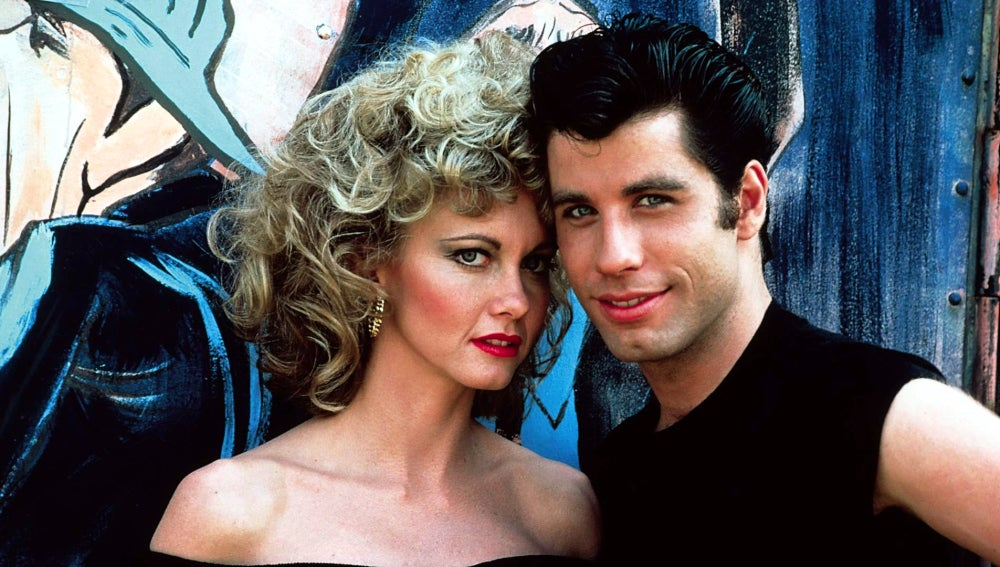 Los protagonistas de 'Grease'