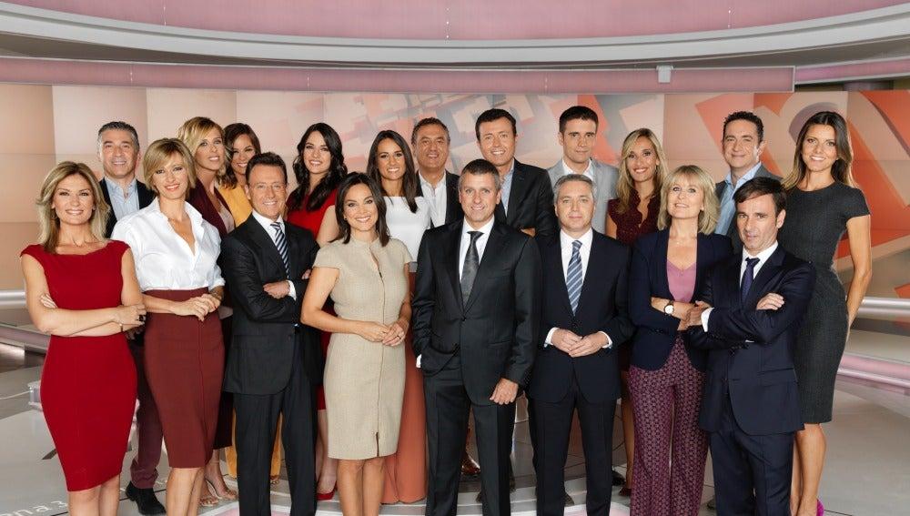 Foto presentadores
