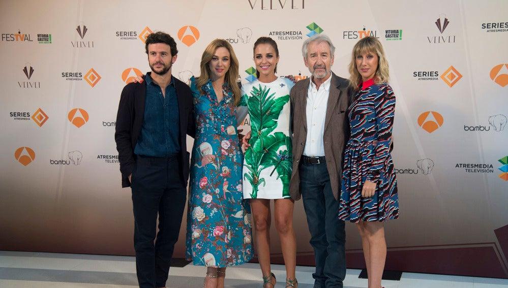 Presentación última temporada de Velvet en el FesTval de Vitoria