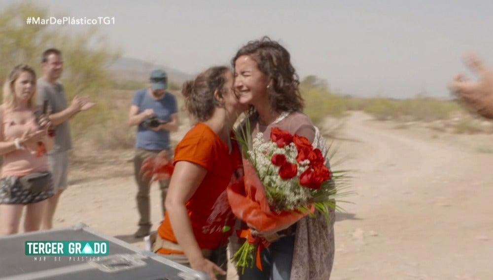 Belén López en 'Tercer Grado'
