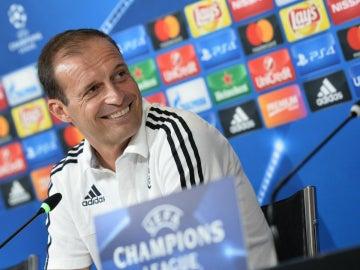Allegri, técnico de la Juventus