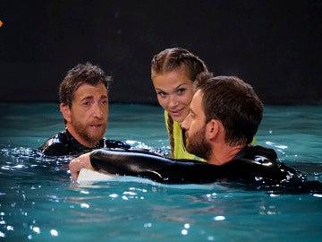 Patricia Montero nos enseña a sobrevivir al ataque de un tiburón