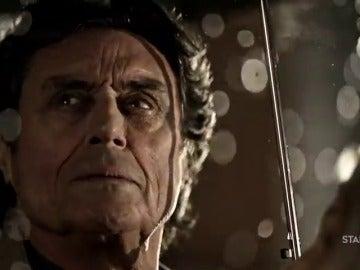 Frame 55.506105 de: Ian McShane protagoniza la promo de 'American Gods'