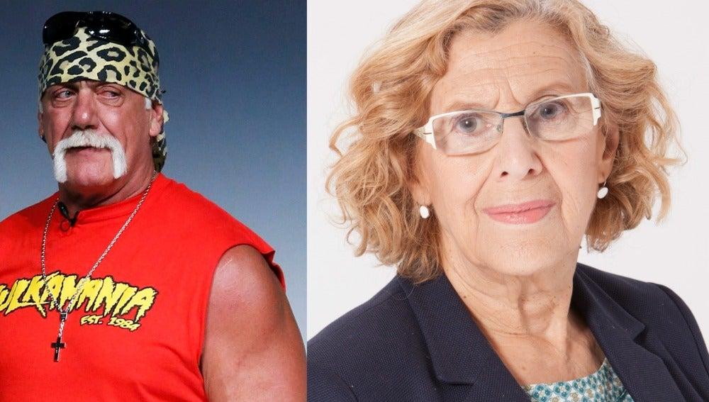 ¿Quién tiene más años, Manuela Carmena o Hulk Hogan?
