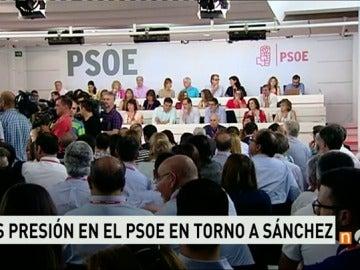 Frame 46.512449 de: Aumenta la presión sobre Pedro Sánchez dentro del PSOE