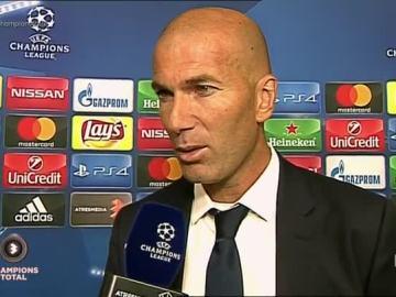 Zidane habla tras la victoria ante el Sporting