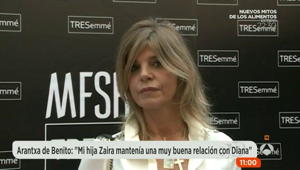 Antena 3 tv arancha de benito mi hija manten a muy for Espejo publico diana quer