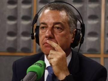 Íñigo Urkullu, en una entrevista en Onda Cero