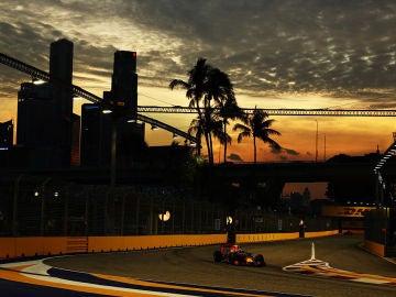 Verstappen, en el GP de Singapur