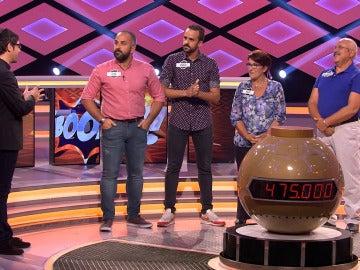 Los 'Boda Boom', emocionados en su regreso al programa