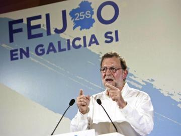 Mariano Rajoy en Galicia
