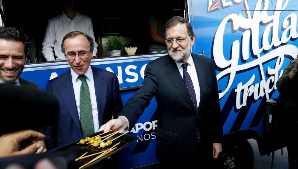 Rajoy y Alfonso Alonso