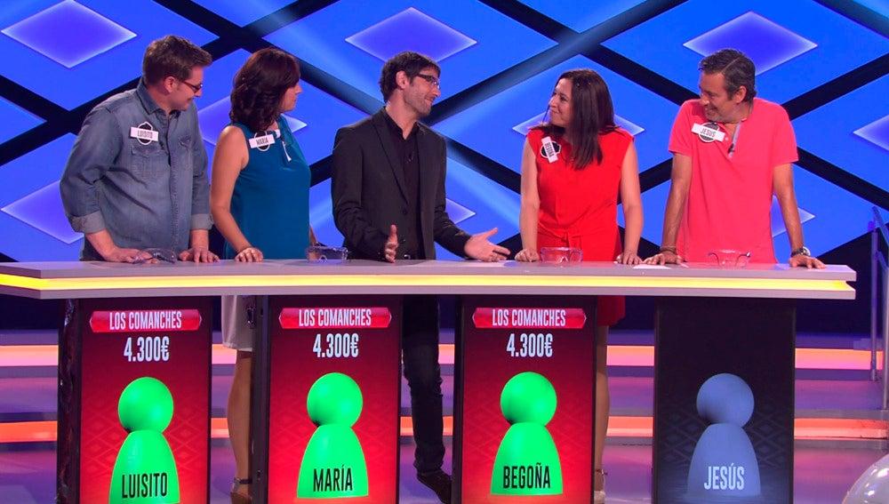 Los 'Rockcampers' llegan a la prueba final con los cuatro integrantes del equipo. En esta última ronda, los cuatro chicos no consiguen llevarse el bote del día al fallar la última pregunta de la prueba, pero continúan con nosotros.