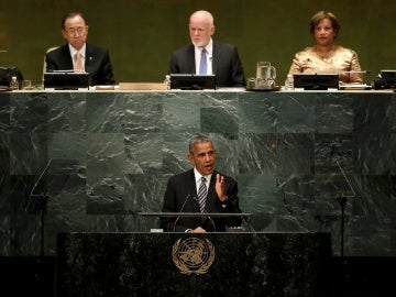 Barack Obama ante la Asamblea General de la ONU