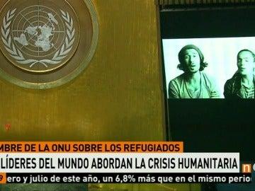 Suena 'Imagine' en la ONU