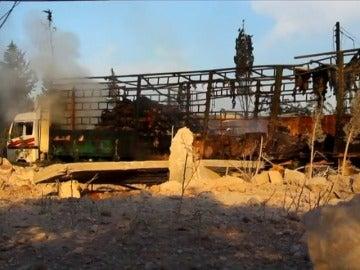 Frame 1.5299 de: La ONU suspende todas las operaciones sobre el terreno en Siria tras ataque
